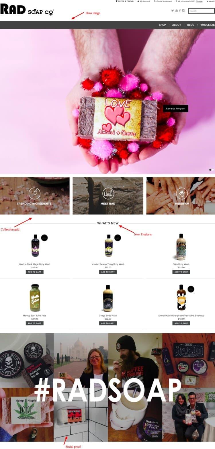 rad visual merchandising