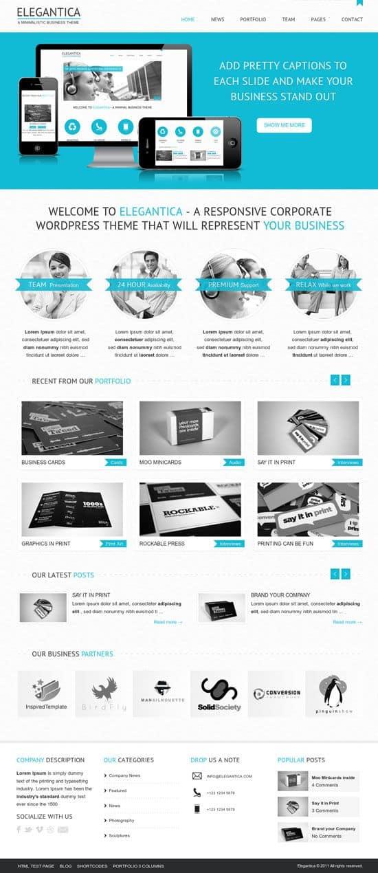 elegantica homepage