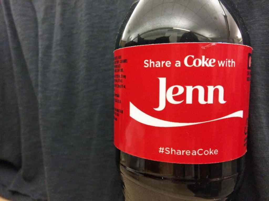 personalized marketing coke