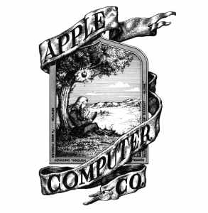 apple's first logo