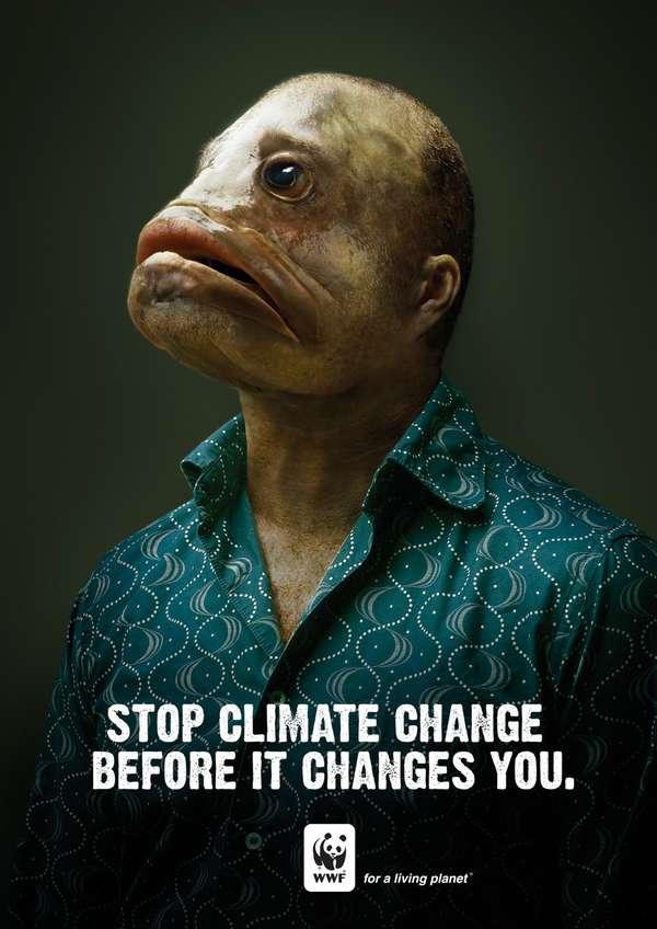 manfish wwf ad