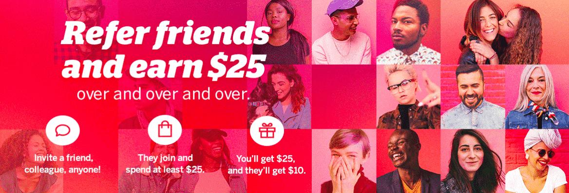 ebates refer a friend