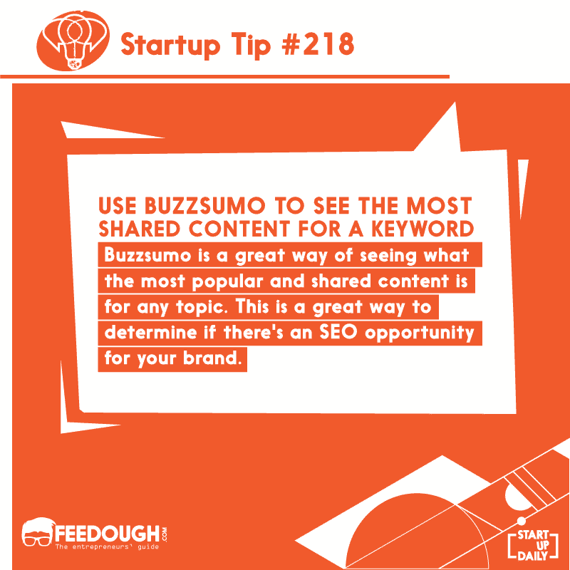 Startup Pro Tip #218
