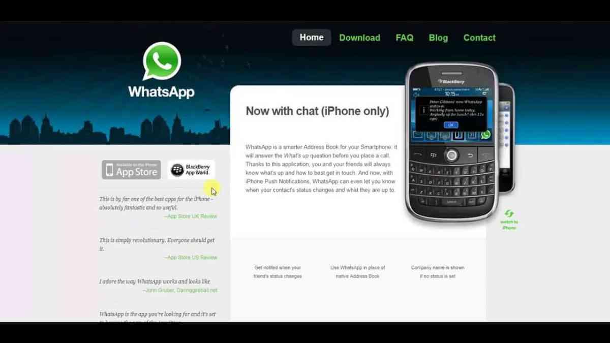 WhatsApp 2.0