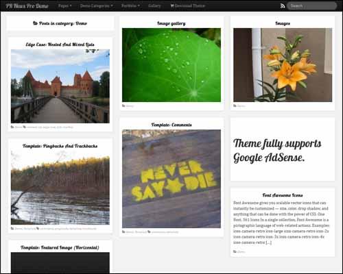 PR News WordPress Theme