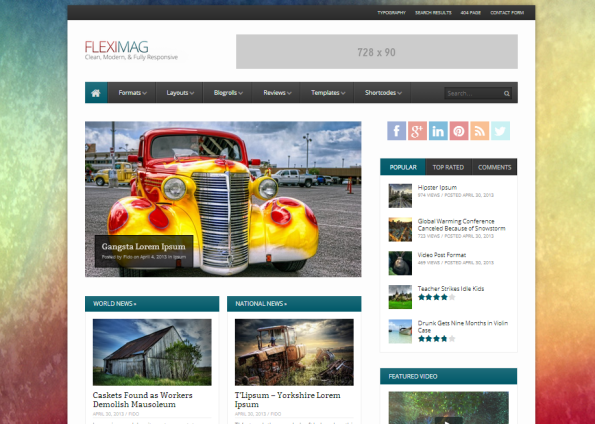 FlexiMag WordPress Theme