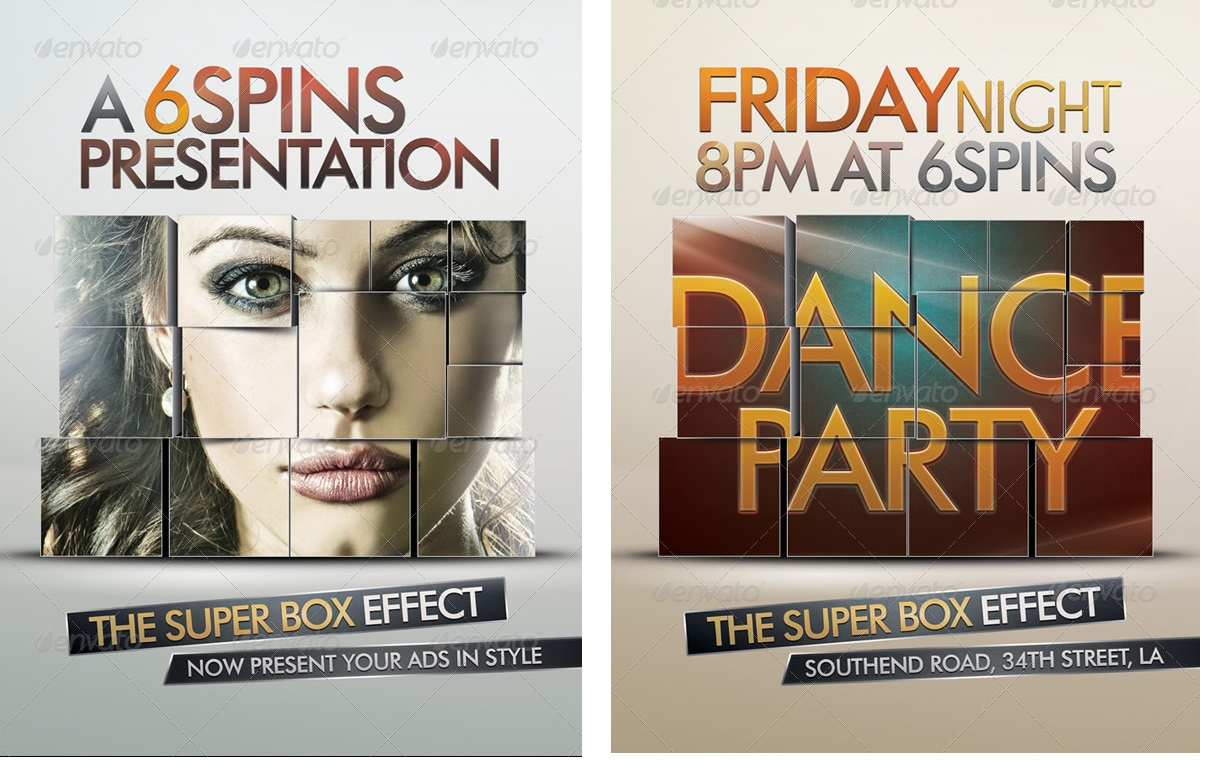 Ad And Party Flyer Template