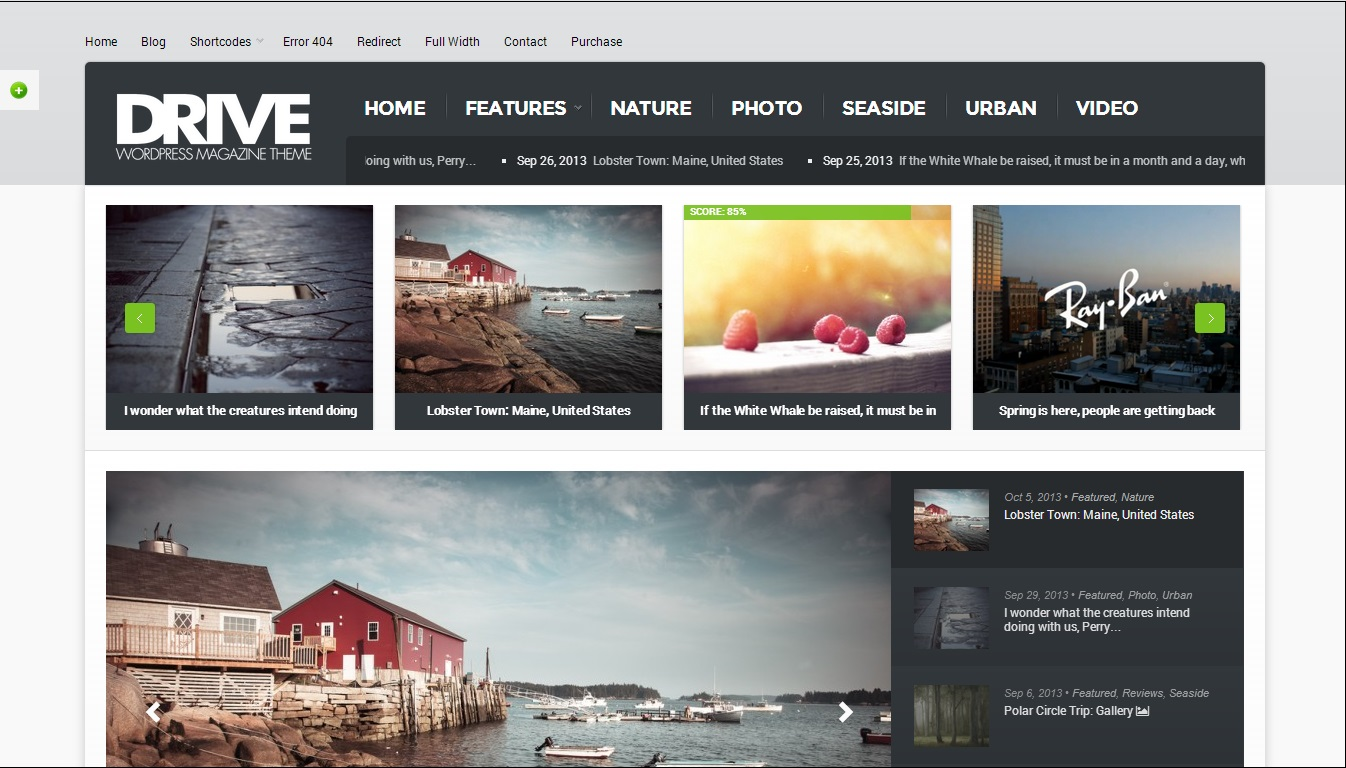 Drive WordPress Theme