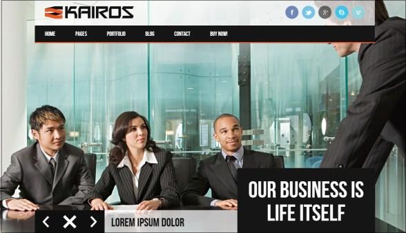 Kairos WordPress theme