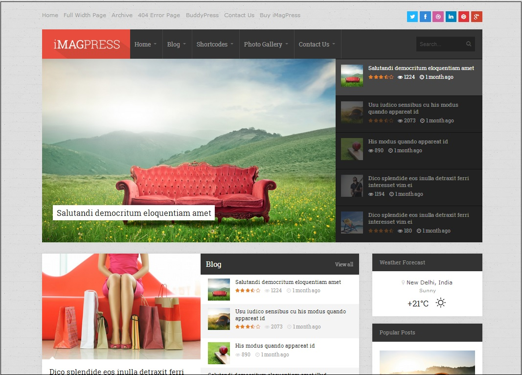 iMagpress wordpress theme