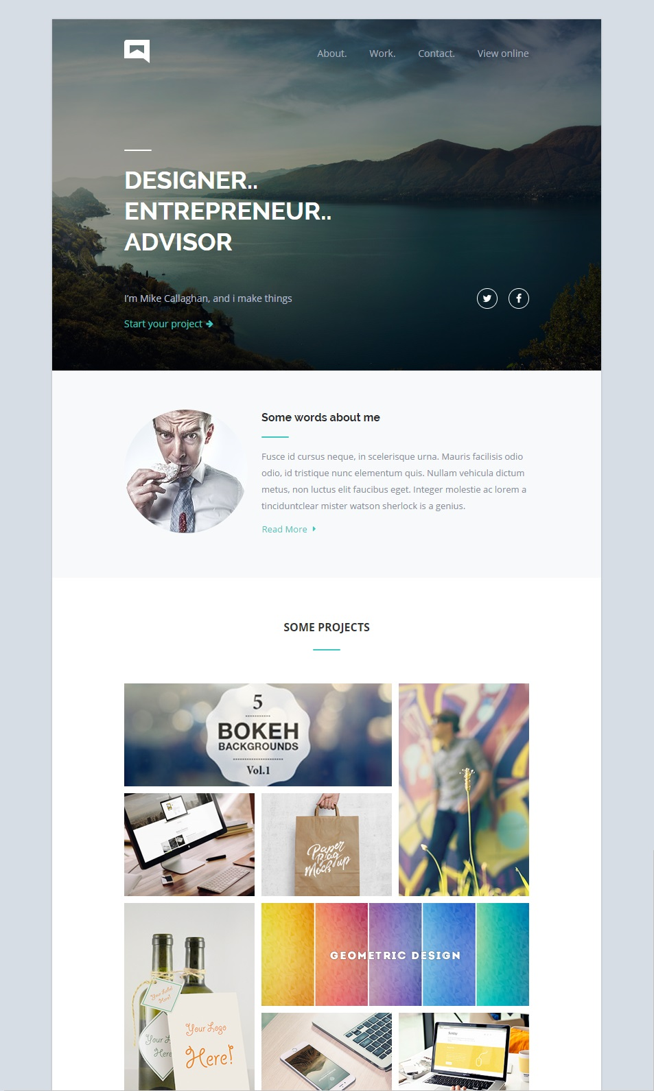 Omail email template