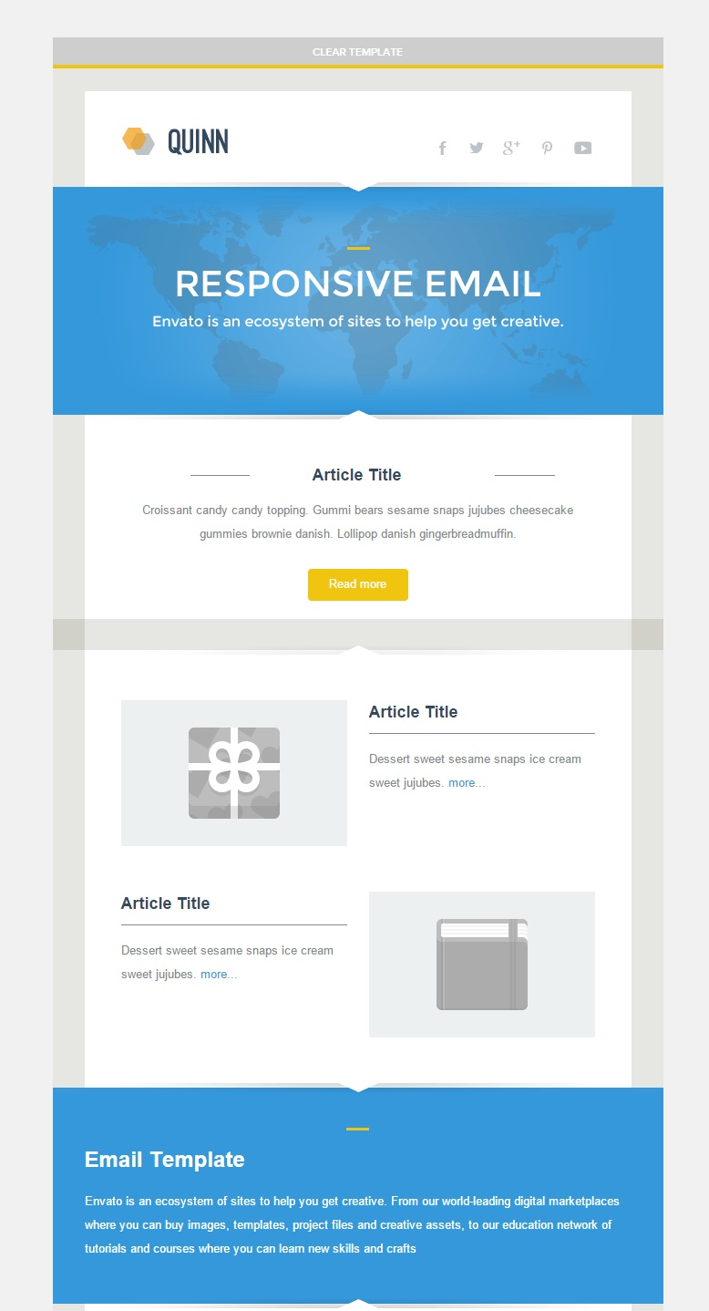Quinn Responsive Email Template