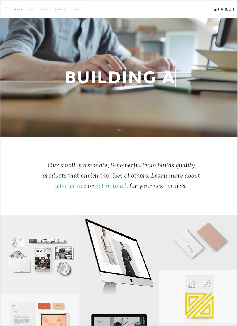 harbor wordpress theme