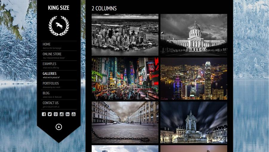 KingSize Photography Theme