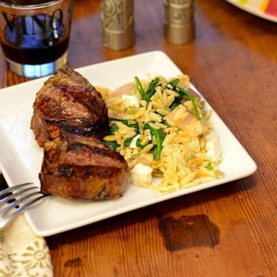 Lamb at dinner 500