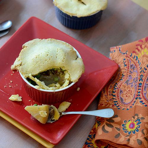 Root Vegetable Mushroom Pie - Feed Your Soul Too