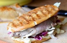Duck Sandwich with Mustard Aoli