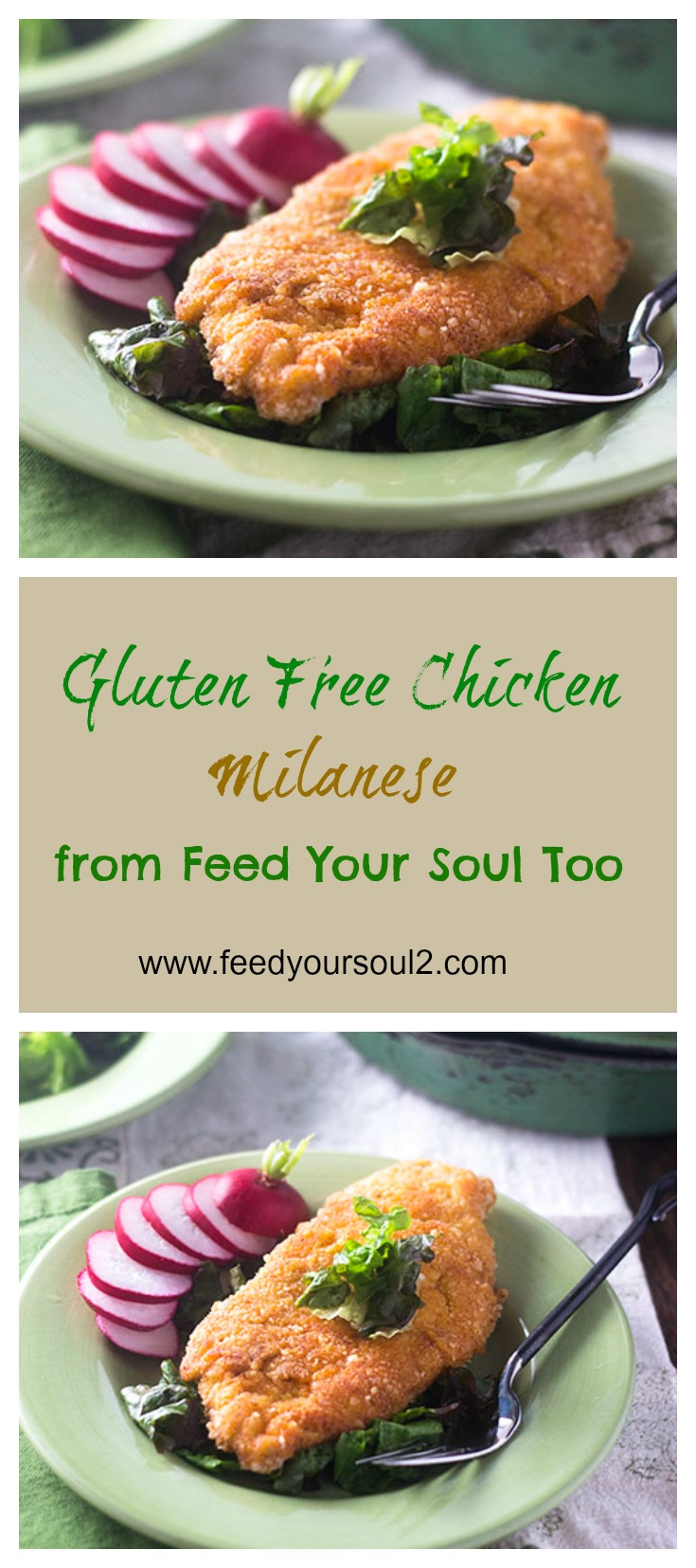 Gluten Free Chicken Milanese #glutenfree #Italianfood #chicken | feedyoursoul2.com