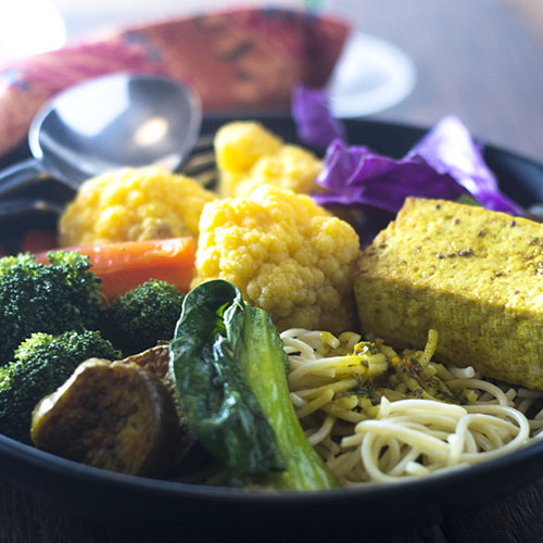 Thai Yellow Curry Tofu from Feed Your Soul Too