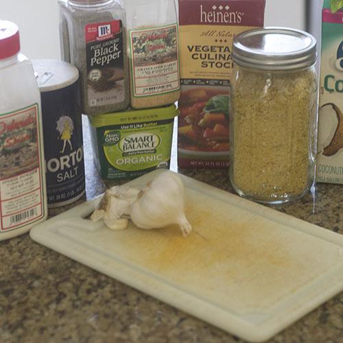 Alfredo Sauce Ingredients
