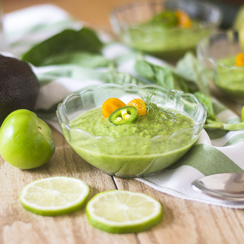 Green Gazpacho Soup from Feed Your Soul Too