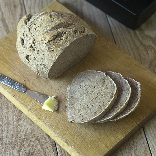 Spelt Millet Brown Rice Flour GF Bread from Feed Your Soul Too