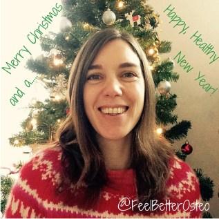 Emma Lipson osteopath Christmas 2015