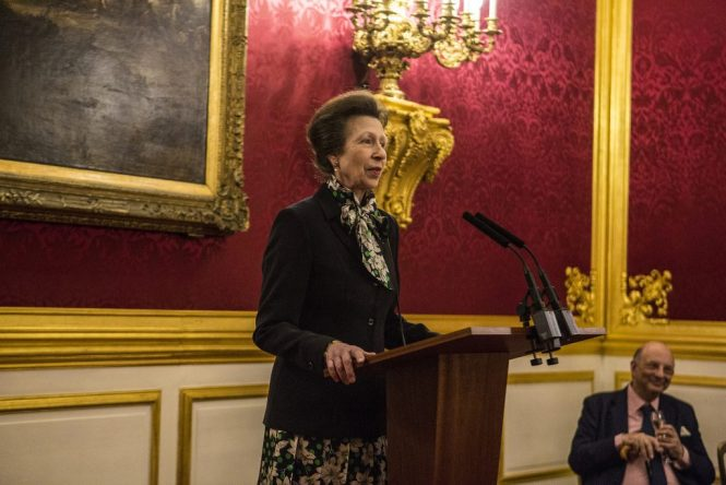 Princess Anne, patron of the British School of Osteopathy