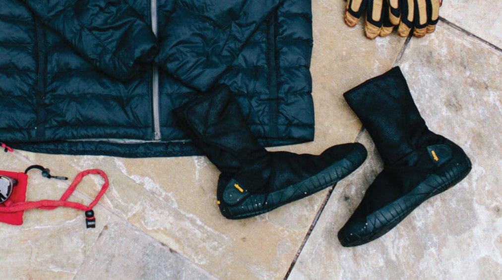 furoshiki winter shoes 1
