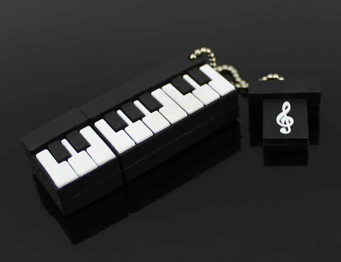 Piano Shaped Usb Flash Drive FeelGift