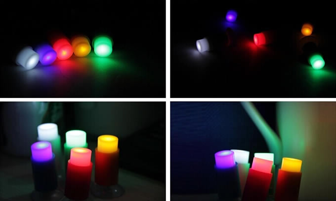Tiny Push Pin LED Light FeelGift