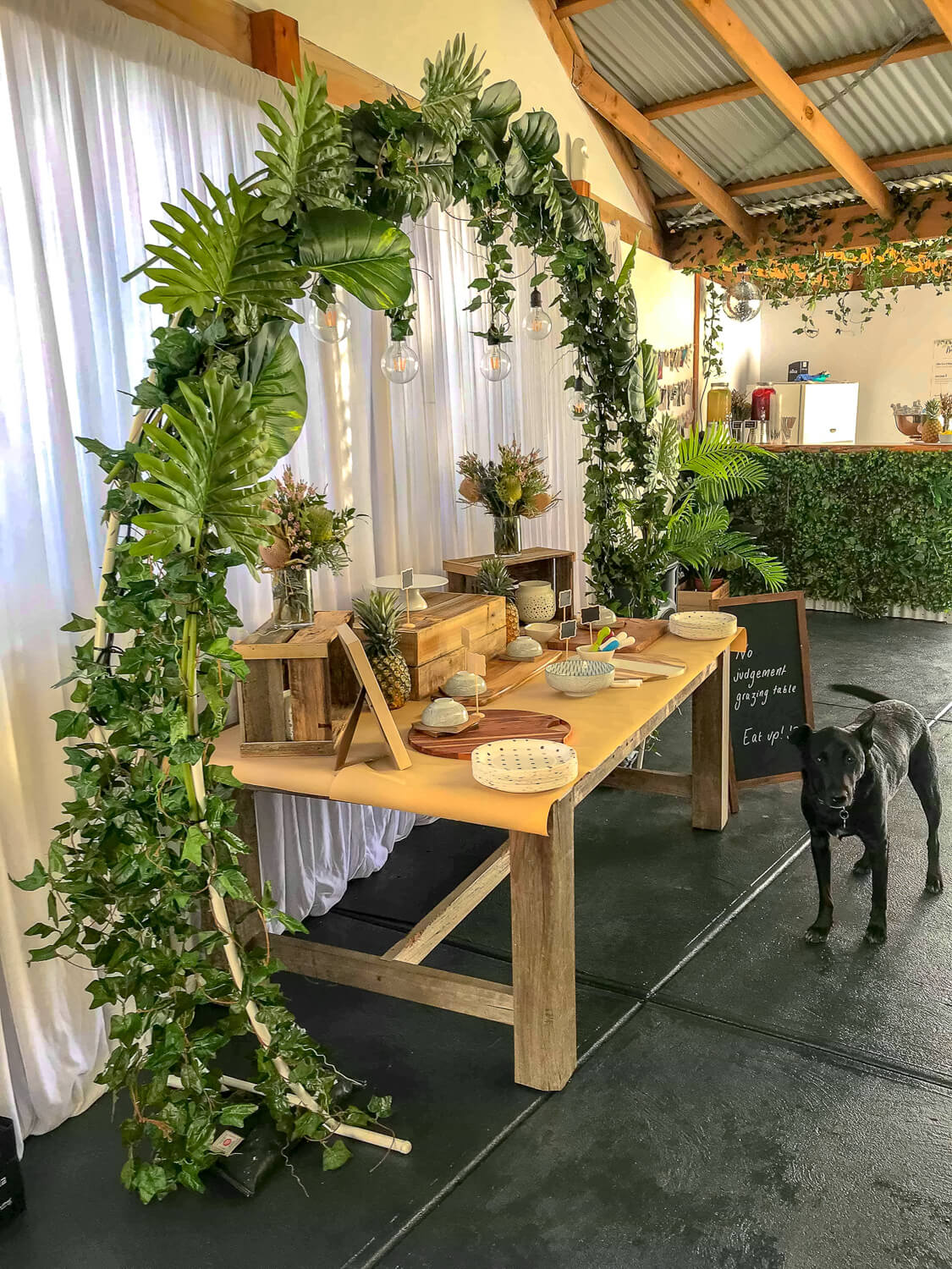 Round Wedding Arch Hire Feel Good Events Melbourne