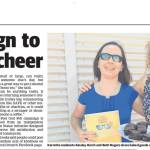This is an image of W.A. Act Belong Commit in the local Pilbara newspaper