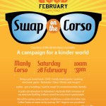 This is the image for Feel Good Feb Swap on The Corso in Manly