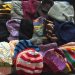 This is an image of beanies donated as part of KIC 2016