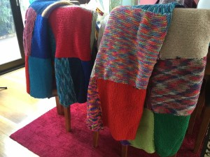 This is the image for Year 5 2015 Cromer Public schools, knitted blankets
