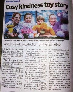 Cromer PS/ KiC in Manly Daily