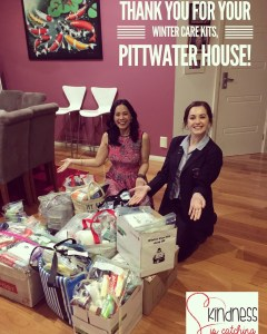 This is an image of Linda Pang and Juliet Rayner, perfect at Pittwater House School