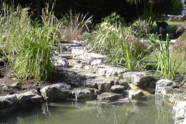 Building Garden Stream Uk