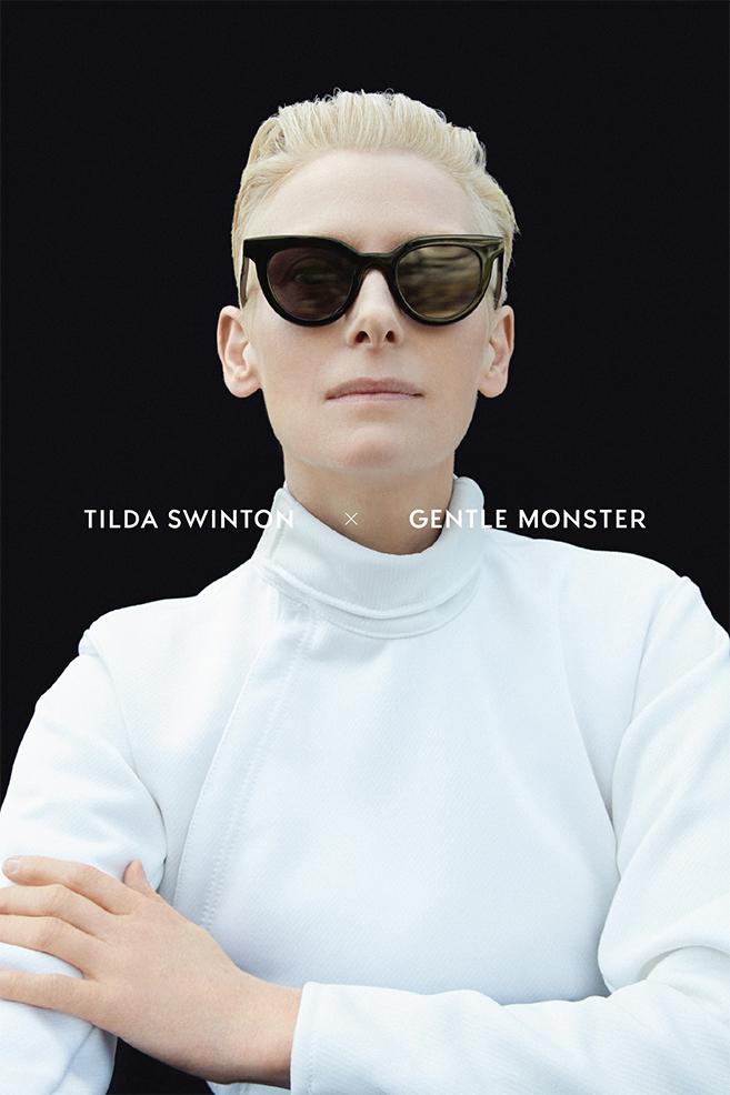 Tilda Swintons New Line Of Sunglasses From Gentle Monster