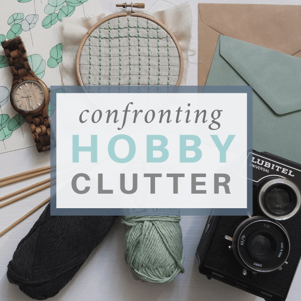 How to Confront Your Hobby Clutter