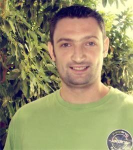 Francis Dalary, technicien paysagiste.
