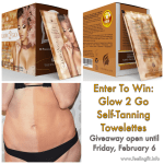 Glow 2 Go Self Tanning Towelettes Giveaway #thermalabs