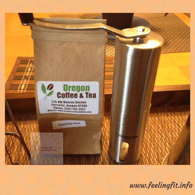 My Cozyna Cermanic Burr Manual Coffee