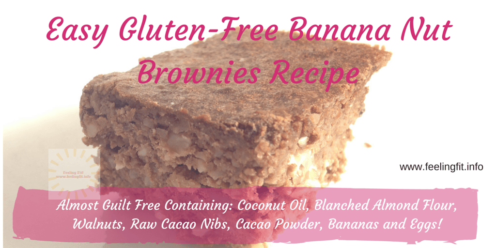 Quick and Easy Gluten-Free Banana Nut Brownies Recipe