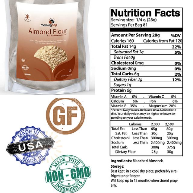 morning pep almond flour