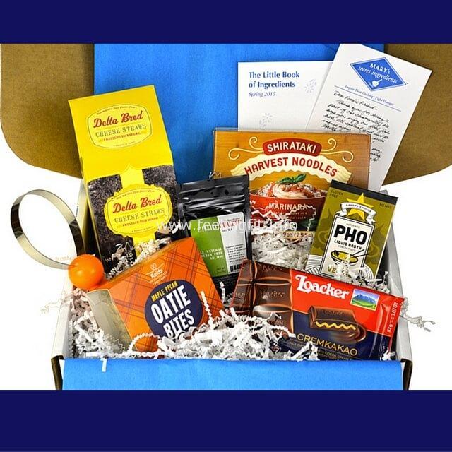 Marys Secret Ingredients Box