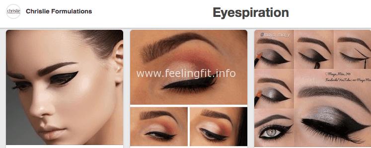 Chrislie Formulations Eyespiration Pinterest Board