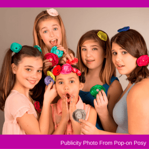 Pop-On Posy Is a fun accessory for girls of all ages