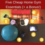 Five Cheap Home Gym Essentials